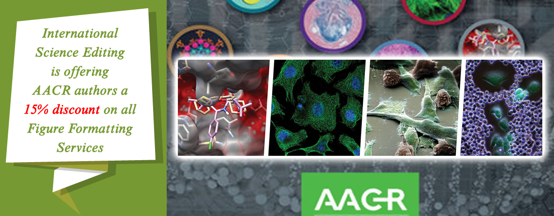 15% Off Figure Formatting for AACR authors
